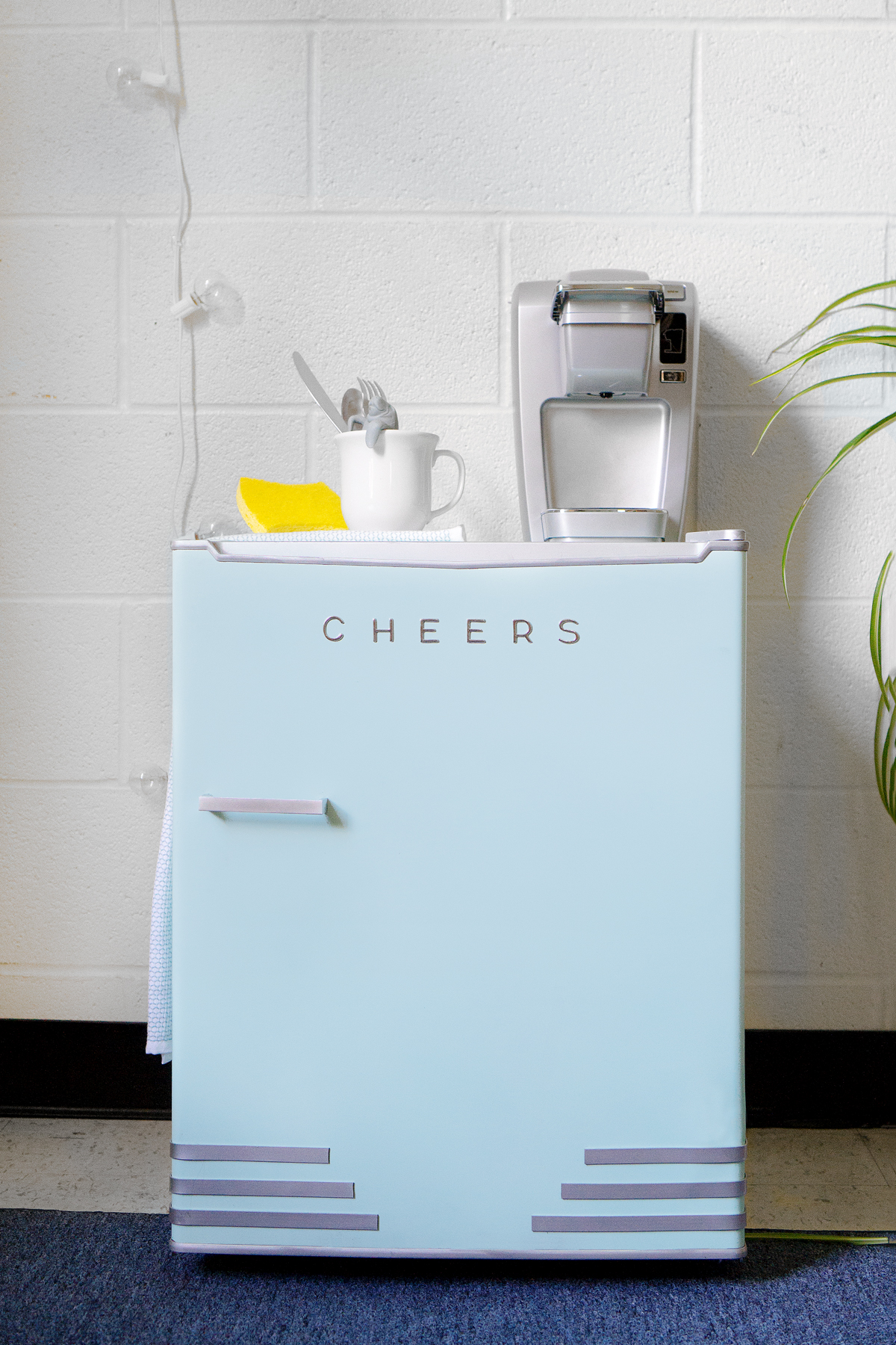 small bedroom fridge the miniest mini fridge makeover ctrl curate 13231