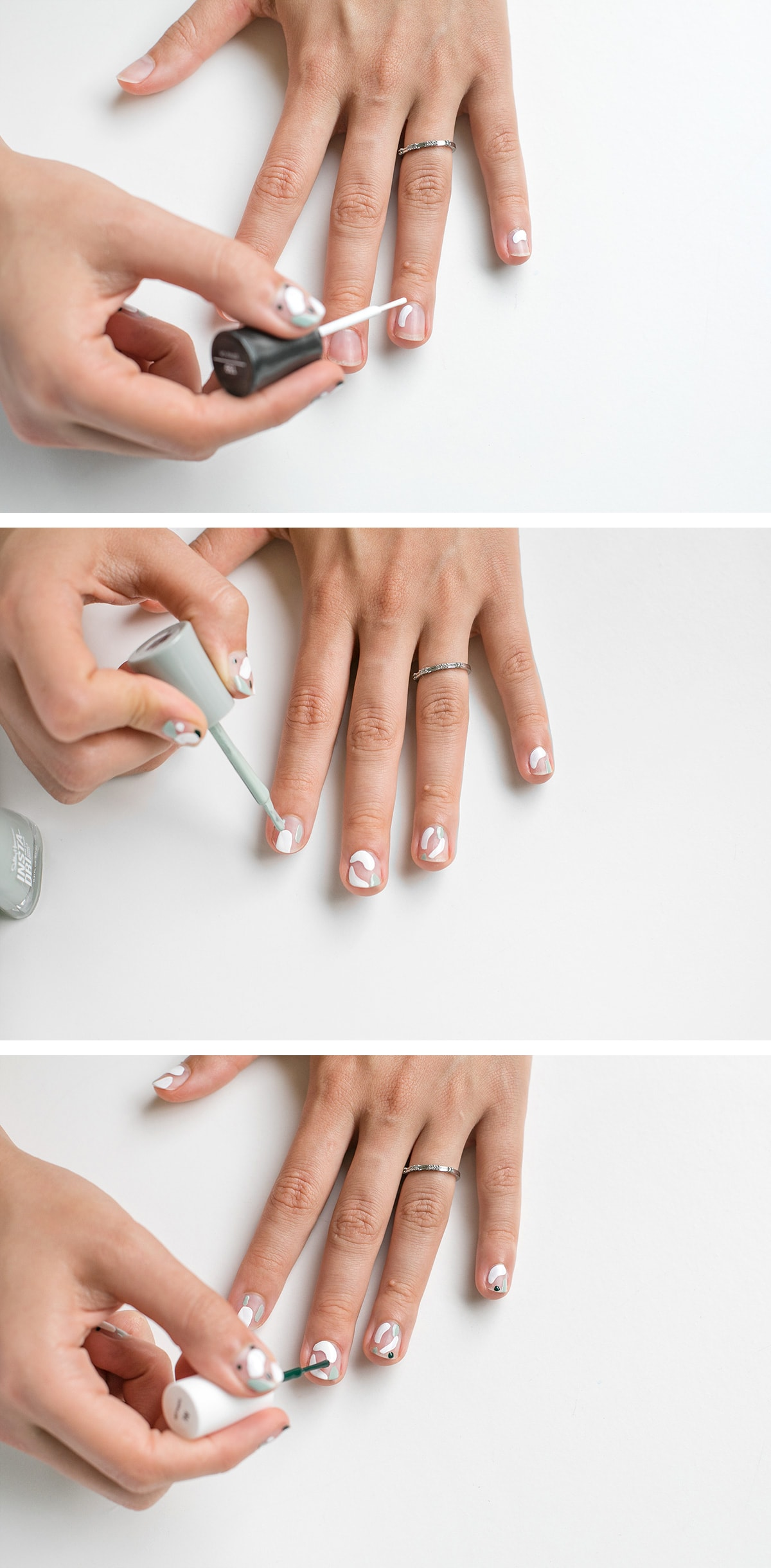 Naked-Terrazzo-Nail-Art-Steps | ctrl + curate